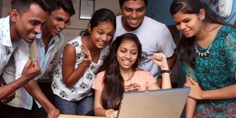 HSC students were glued to the Laptop screens throughout the day to check their results online in Thane on Wednesday. Express Photo by Deepak Joshi. 25.05.2016. Mumbai. *** Local Caption ***  HSC students were glued to the Laptop screens throughout the day to check their results online in Thane on Wednesday. Express Photo by Deepak Joshi. 25.05.2016. Mumbai.